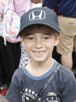 Honda enthusiast Alex Bourdais, son of Race winner Sébastien Bourdais, Dale Coyne Racing Honda