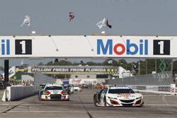 #23 Alex Job Racing Audi R8 LMS GT3: Bill Sweedler, Townswend Bell, Frank Montecalvo