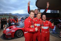 Race winner #11 Scuderia Praha, Ferrari 488 GT3: Jiri Pisarik, Josef Král, Matteo Malucelli