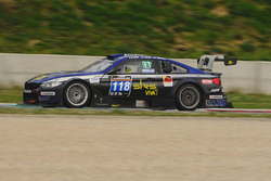 #118 JR Motorsport, BMW M4 Silhouette: Nick Geelen, Ward Sluys, Michael Verhagen