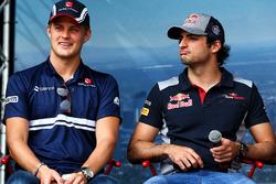 Маркус Эрикссон, Sauber, и Карлос Сайнс-мл., Scuderia Toro Rosso