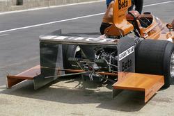 Vittorio Brambilla, March 751 Ford arka kanat uzatması