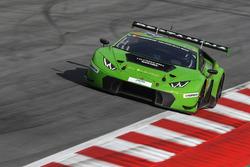#963 GRT Grasser Racing Team Lamborghini Huracan GT3: Milos Pavlovic, Christoph Lenz, Mark Ineichen, Roberto Pampanini