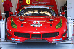 #62 Risi Competizione Ferrari 488 GTE: Toni Vilander, Giancarlo Fisichella