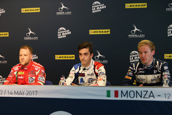 Conférence de presse : #55 Spirit of Race, Ferrari F488 GTE: Matt Griffin, #39 GRAFF, Oreca 07 - Gibson: Enzo Guibbert, #3 United Autosports, Ligier JS P3 - Nissan:Wayne Boyd