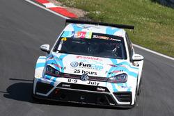 Guillaume Mondron, Giacomo Altoè, VW Golf TCR, Delahaye Racing
