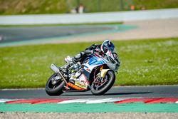 #61 MOTOTECH-EWC, Honda CBR 1000 RR: Didier Van Keymeulen, Gauthier Duwelz, Marc Buchner