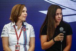 Claire Williams und Marta Garcia