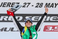 Podio: ganador de la carrera Pietro Fittipaldi, Lotus