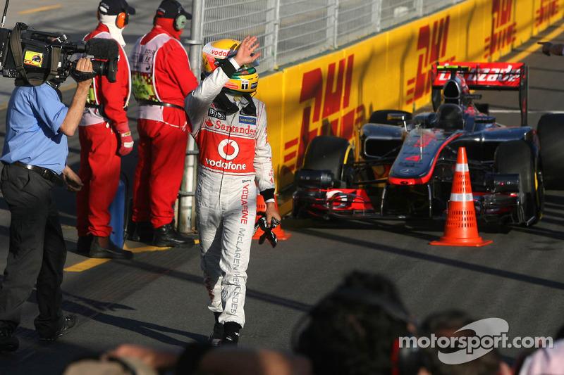 20ª pole position en Australia 2012