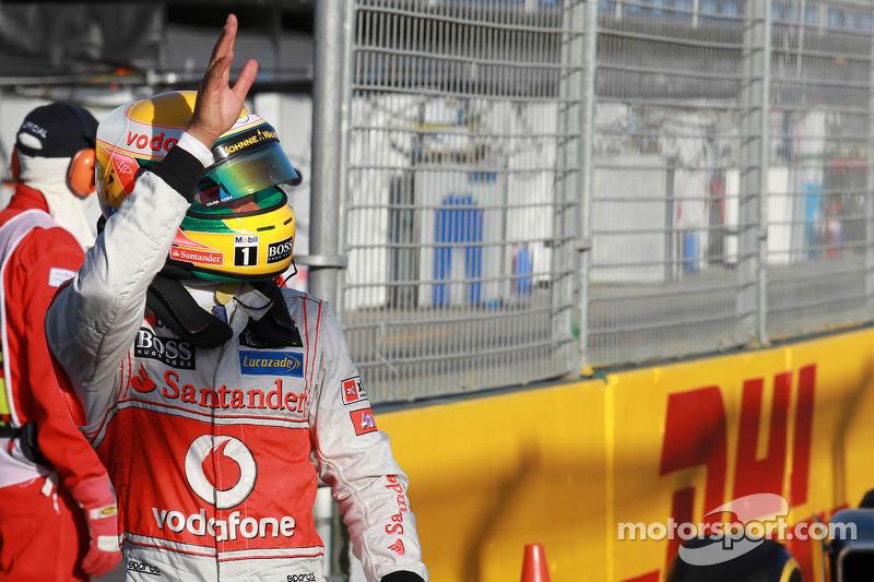 Australia 2012: Lewis Hamilton, McLaren MP4-27