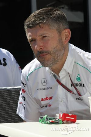 Nick Fry, Mercedes GP