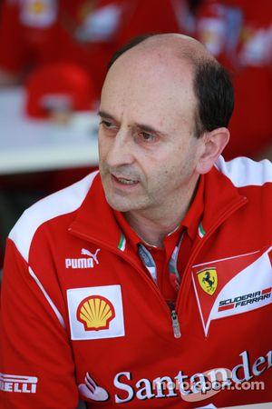 Luca Marmorini, Scuderia Ferrari