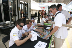 BMW autograph session