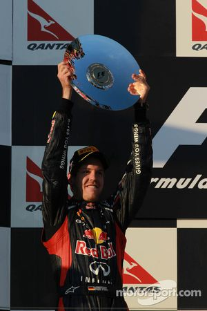 2nd place Sebastian Vettel, Red Bull Racing