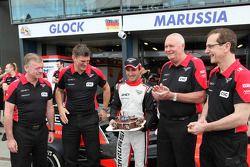 Timo Glock, Marussia F1 Team viert 30ste verjaardag