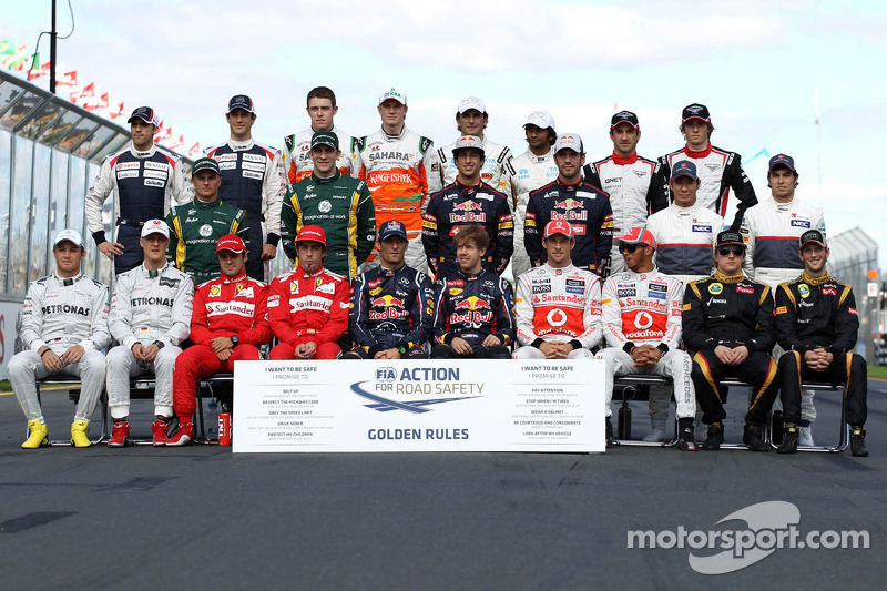 Clase 2012 Fórmula 1