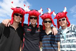 Red Bull Racing fans
