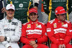 Felipe Massa, Scuderia Ferrari ve Fernando Alonso, Scuderia Ferrari