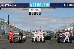 Fernando Alonso, Scuderia Ferrari, Kimi Raikkonen, Lotus F1 Team, Jenson Button, McLaren Mercedes, L