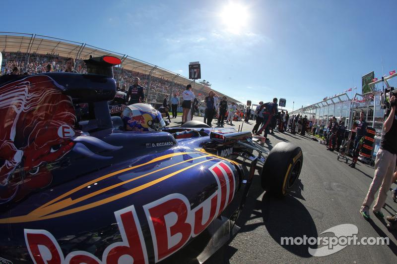 2012 - Daniel Ricciardo e Jean-Éric Vergne