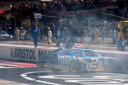Race winner Brad Keselowski, Penske Racing Dodge