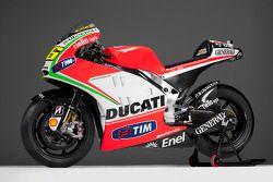 La nueva Ducati Desmosedici GP12
