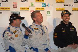 eBay Motors rijders Rob Collard, Nick Foster en Tom Onslow-Cole