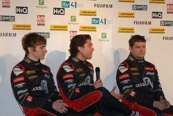 Redstone Racing rijders Aron Smith, Liam Griffin en Mat Jackson