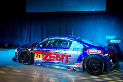 The #21 Hitotsuyama Racing Audi R8 LMS