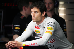 Mark Webber, Red Bull Racing in de pitgarage