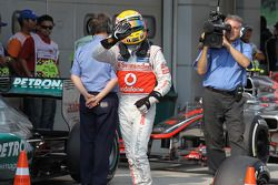 Polepositie Lewis Hamilton, McLaren Mercedes Mercedes