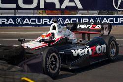 Will Power, Verizon Team Penske Chevrolet in de bandenmuur