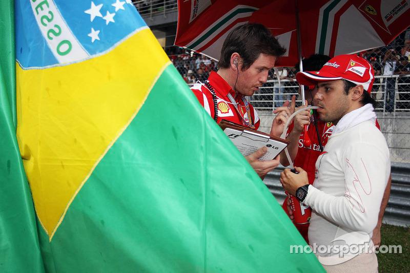 Felipe Massa, Ferrari on the grid