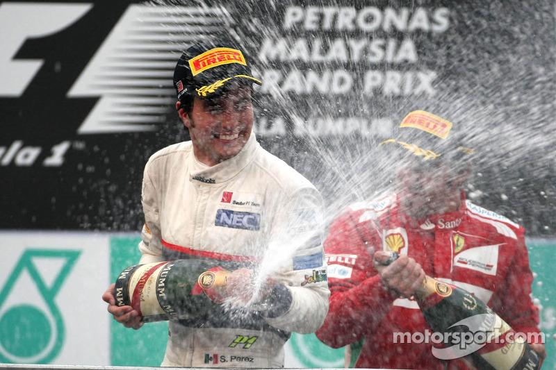 GP de Malasia 2012 (Sauber)-2° lugar