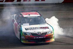 Race winner Joey Logano