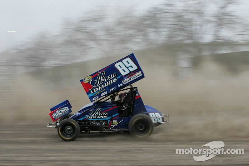 Rico Abreu pilota sprint car