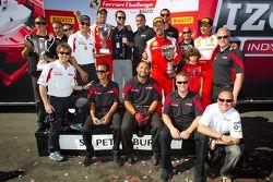 Ferrari of Ft Lauderdale team celebration