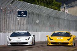 #23 Ferrari of Central Florida 458TP: Onofrio Triarsi, #47 Ferrari of Houston 458CS: Darren Crystal