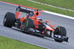 Charles Pic, Marussia F1 Team y Timo Glock, Marussia F1 Team