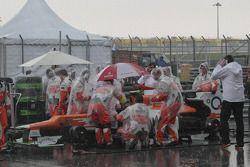 Sahara Force India team