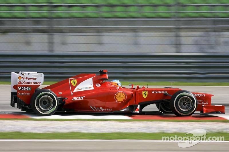 4º Fernando Alonso - 23 corridas - De Europa 2011 até Hungria 2012 - Ferrari