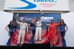 Race #1 L2 klasse Podium: Scott Tucker, Alan Wilzig, Alain Nadal