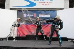 Race #1 Gold Class Podium: Angel Benitez Jr., Scott Tucker, David Calvert-Jones