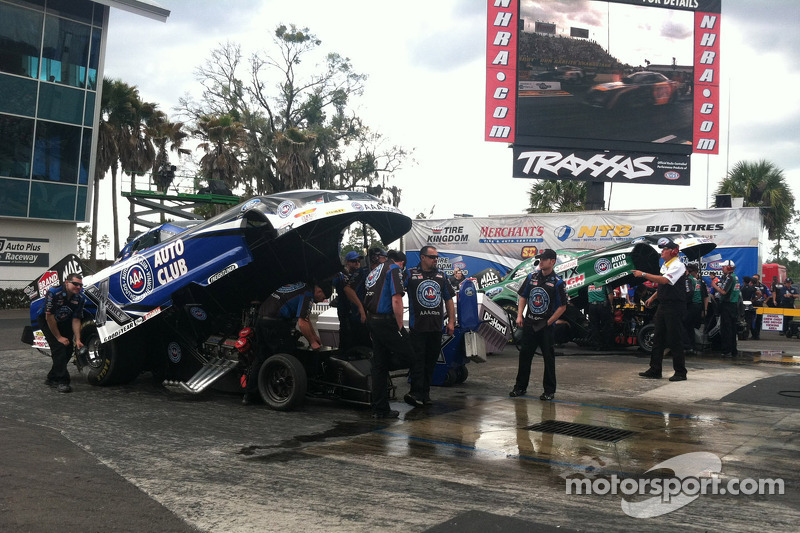 Robert Hight en John Force