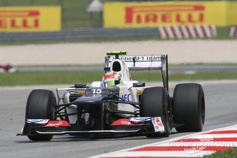 Sergio Perez: 176 Grand Prix'nin 103'ünden puanla ayrıldı