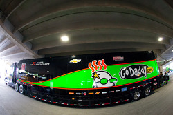 Transporter for James Hinchcliffe, Andretti Autosport Chevrolet