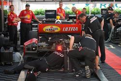 Penske team members at work