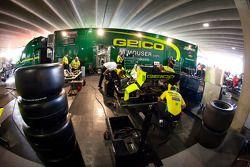 KV Racing Technology dans le paddock