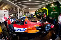 Car of EJ Viso, KV Racing Technology Chevrolet